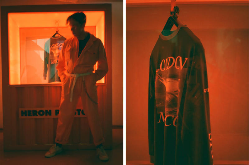 Heron Preston 2017 Fall Winter Collection For You the World London Pop-Up Shop Selfridges Exclusive Tour Tee