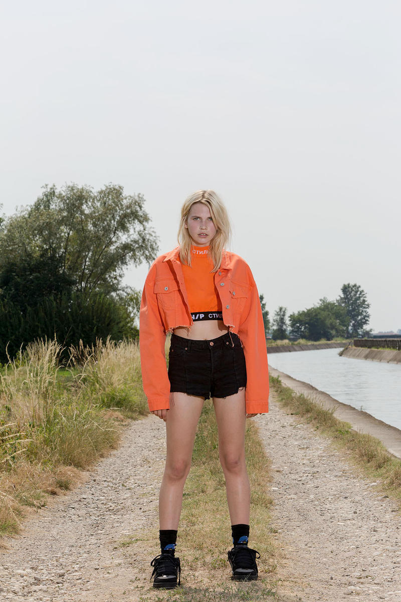 Heron Preston Show House Collection Paris Fashion Week Men's Fashion Clothing Apparel Accessories Luxury Menswear Womenswear