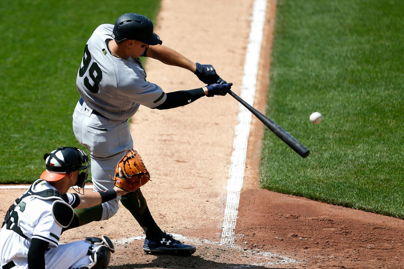 aaron judge new york yankees home run baltimore orioles baseball mlb hr hrs increase 2017 season the ringer why causes