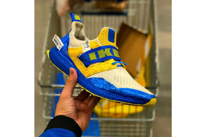 promo code 5ac97 20520 IKEA adidas UltraBOOST Custom Sneaker | HYPEBEAST