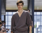 Issey Miyake's 2018 Spring/Summer Collection Flourishes With Stone Patterns