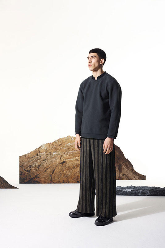 Issey Miyake HOMME PLISSÉ 2017 Fall/Winter Collection