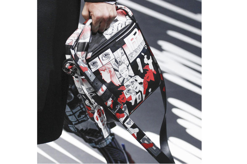 James Jean Prada Bag Collaboration