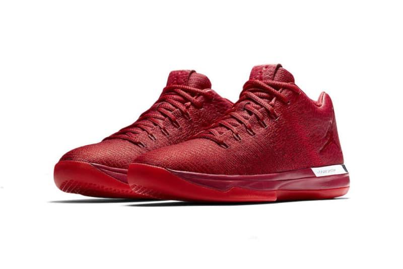 Nike Air Jordan 31 Lows Home Away Gym Red White Chicago Bulls