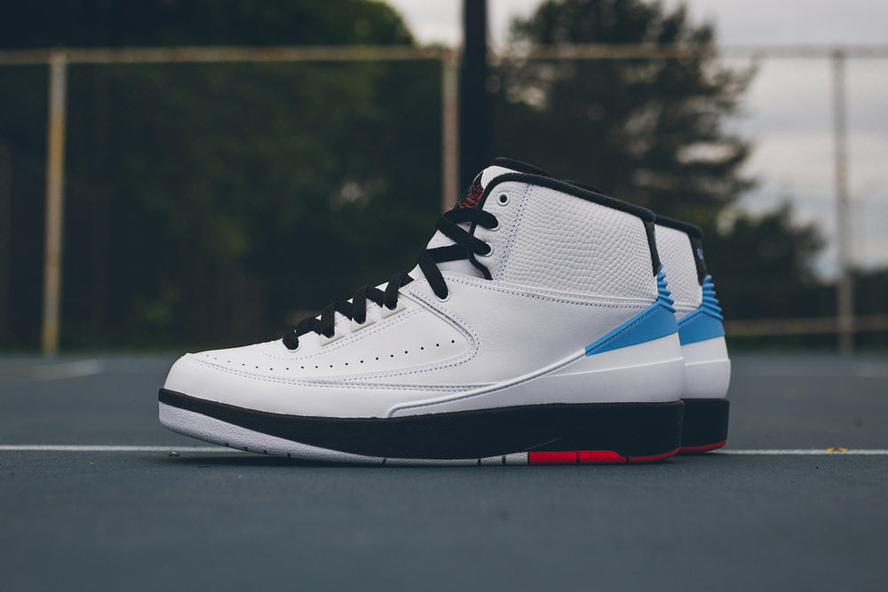 Jordan Converse Alumni Pack 2 aj2 fastbreak low unc north carolina tar heels alumni game blue red black white