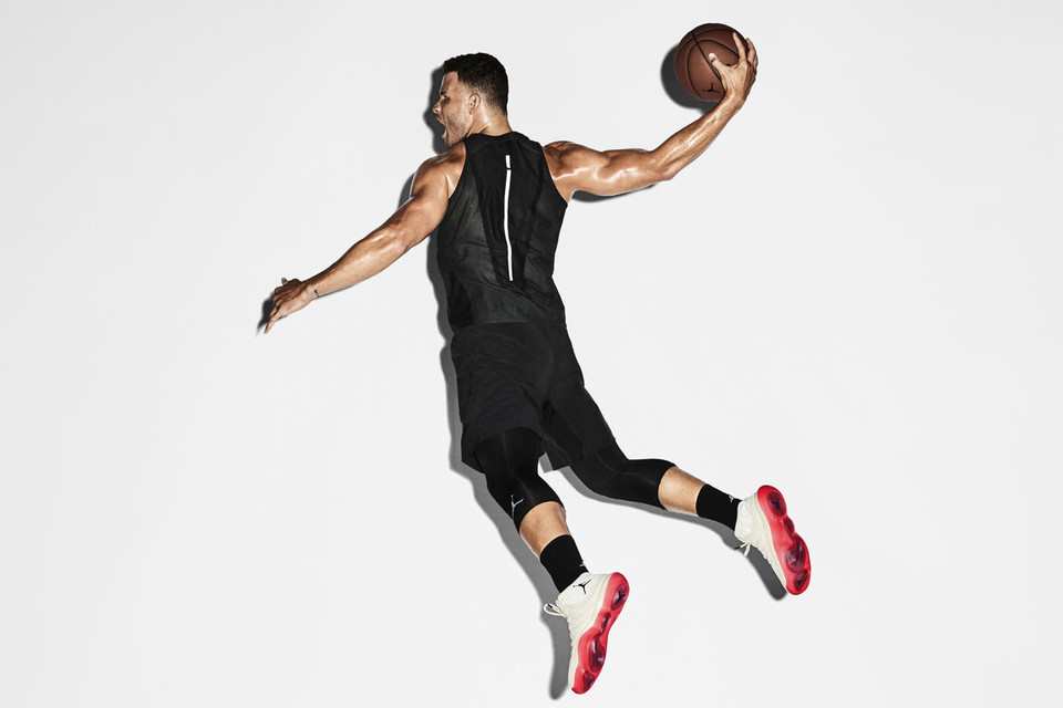 2df1730fb6afaa The Jordan Super.Fly 2017 Was Designed For Athletes Like Blake Griffin. Nike  Basketball and Jordan Brand debut React cushioning.