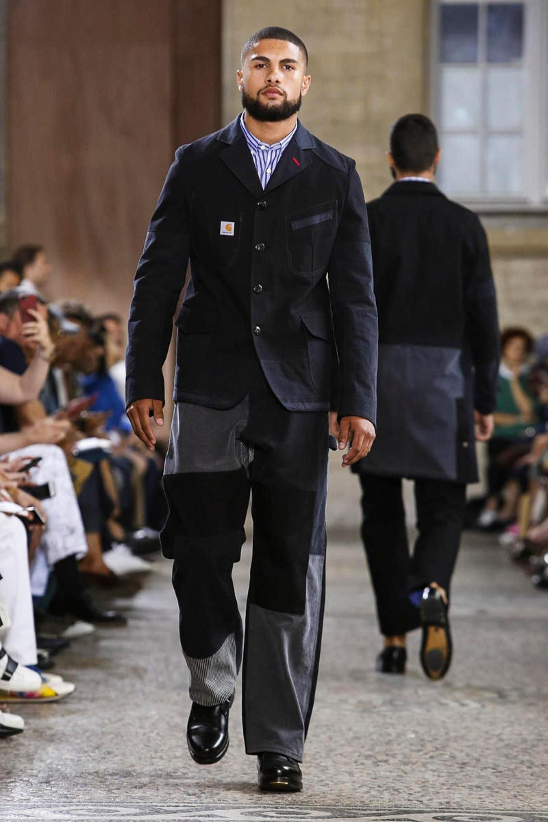 Junya Watanabe 2018 Spring/Summer Collection Paris Fashion Week Men's Runway Show