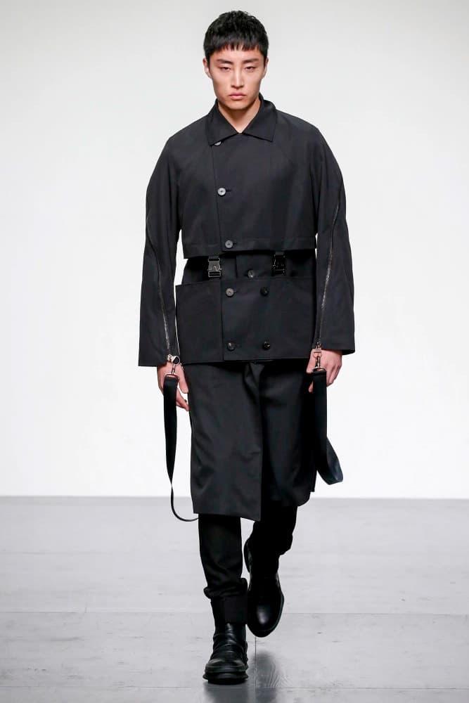 D.GNAK 2018 Spring Summer Collection London Fashion Week Men's Kang Dong Jun