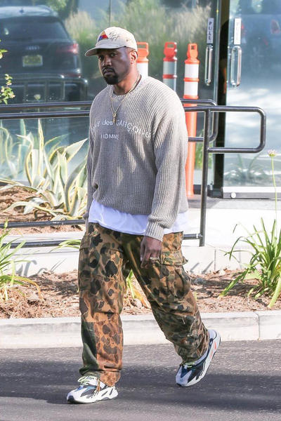 Kanye West Yeezy Runner Calabasas COMME des GARCONS Shia LeBeouf