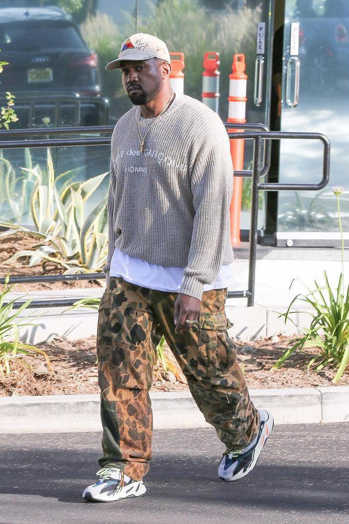 Kanye West Yeezy Runner Calabasas COMME des GARCONS Shia LeBeouf
