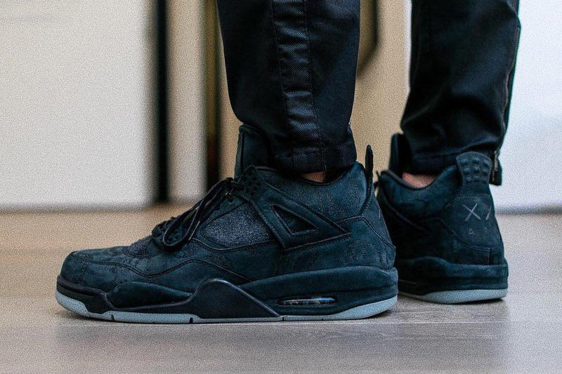 KAWS Air Jordan 4 Friend and Family Black