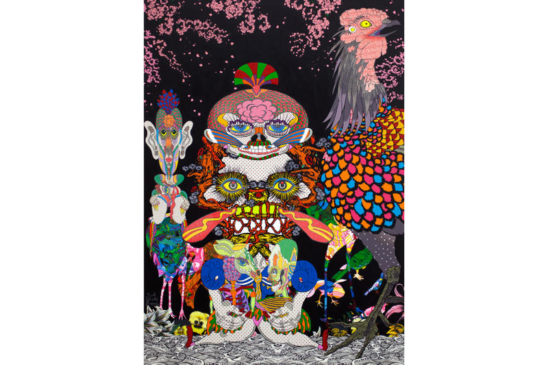 Keiichi Tanaami Amulet of the Tapir Exhibit NANZUKA Gallery Tokyo Shibuya Japan Art Artwork Paintings