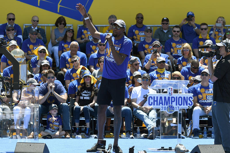 Kevin Durant Responds to Twitter Haters Comments NBA Finals Golden State Warriors