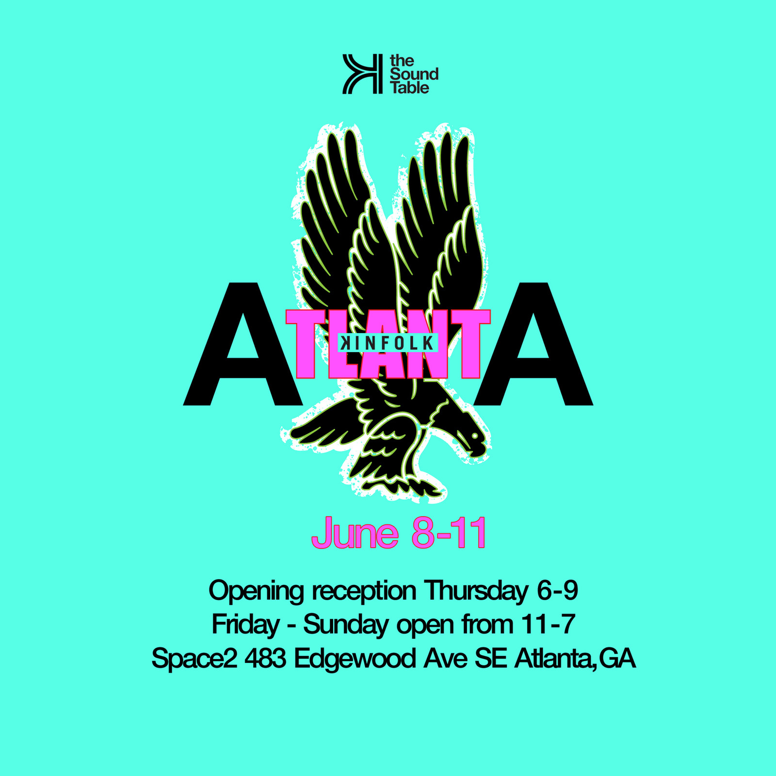 Kinfolk Atlanta Pop-Up The Sound Table Fashion Clothing Apparel Menswear Events