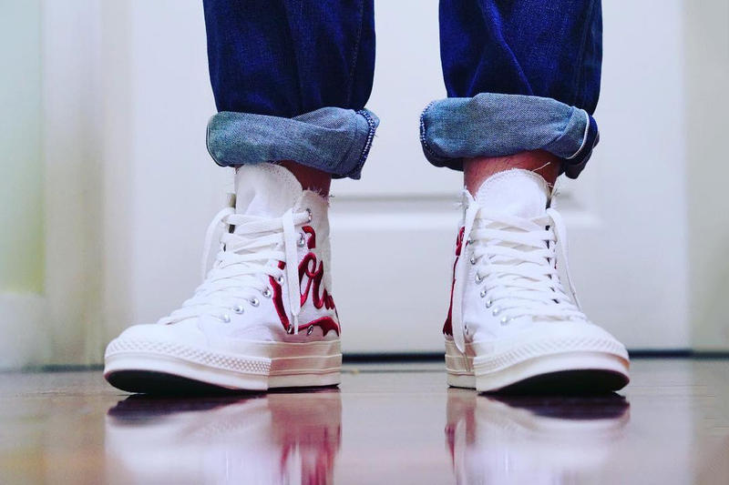 KITH Coca Cola Converse Chuck Taylor All Star '70 First Look White Red