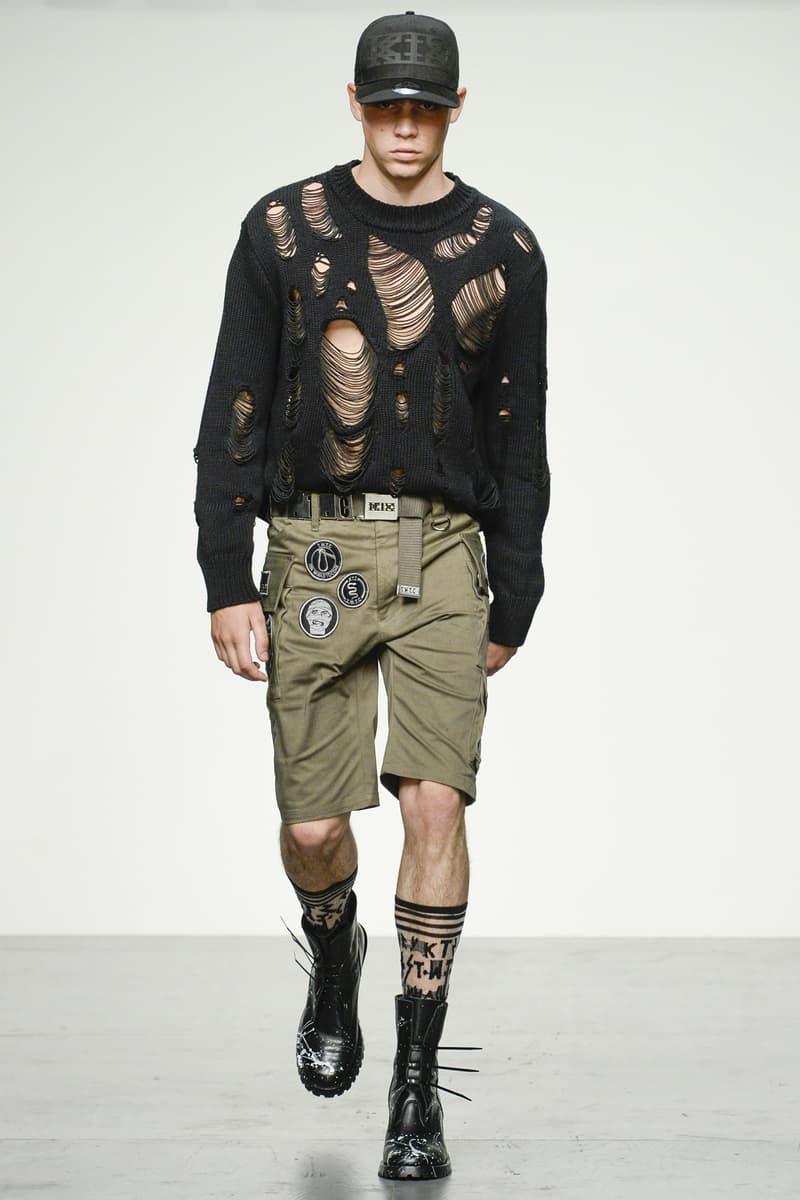 KTZ 2018 Spring Summer Collection London Fashion Week Men's