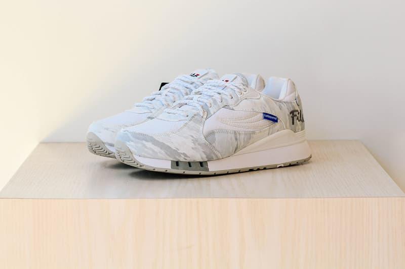 FILA Lafayette Camouflaged Overpass Running Shoe Akomplice Privilege Classic Tennis streetwear kicks