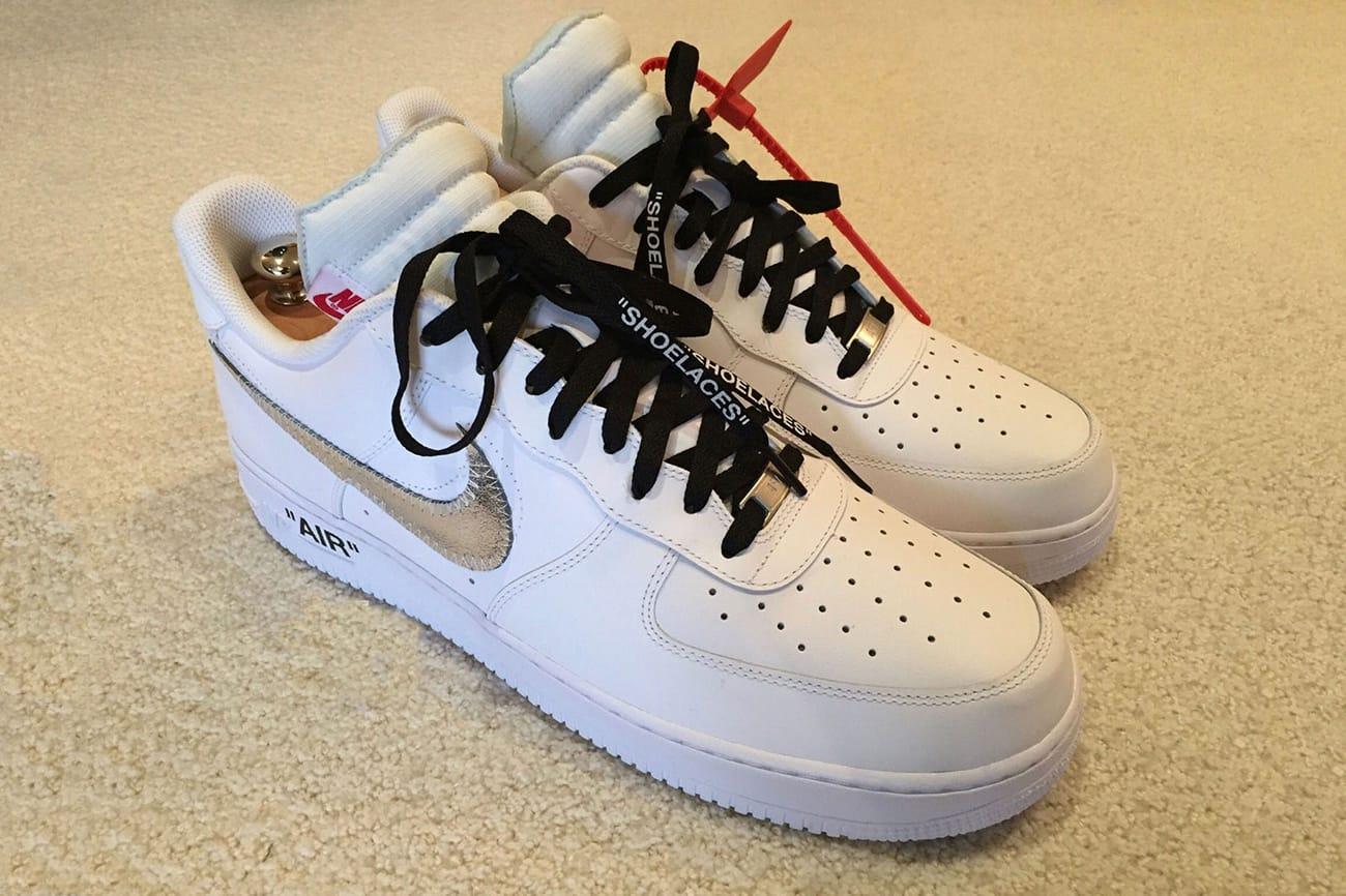 LeBron James Wears OFF-WHITE x Nike Air