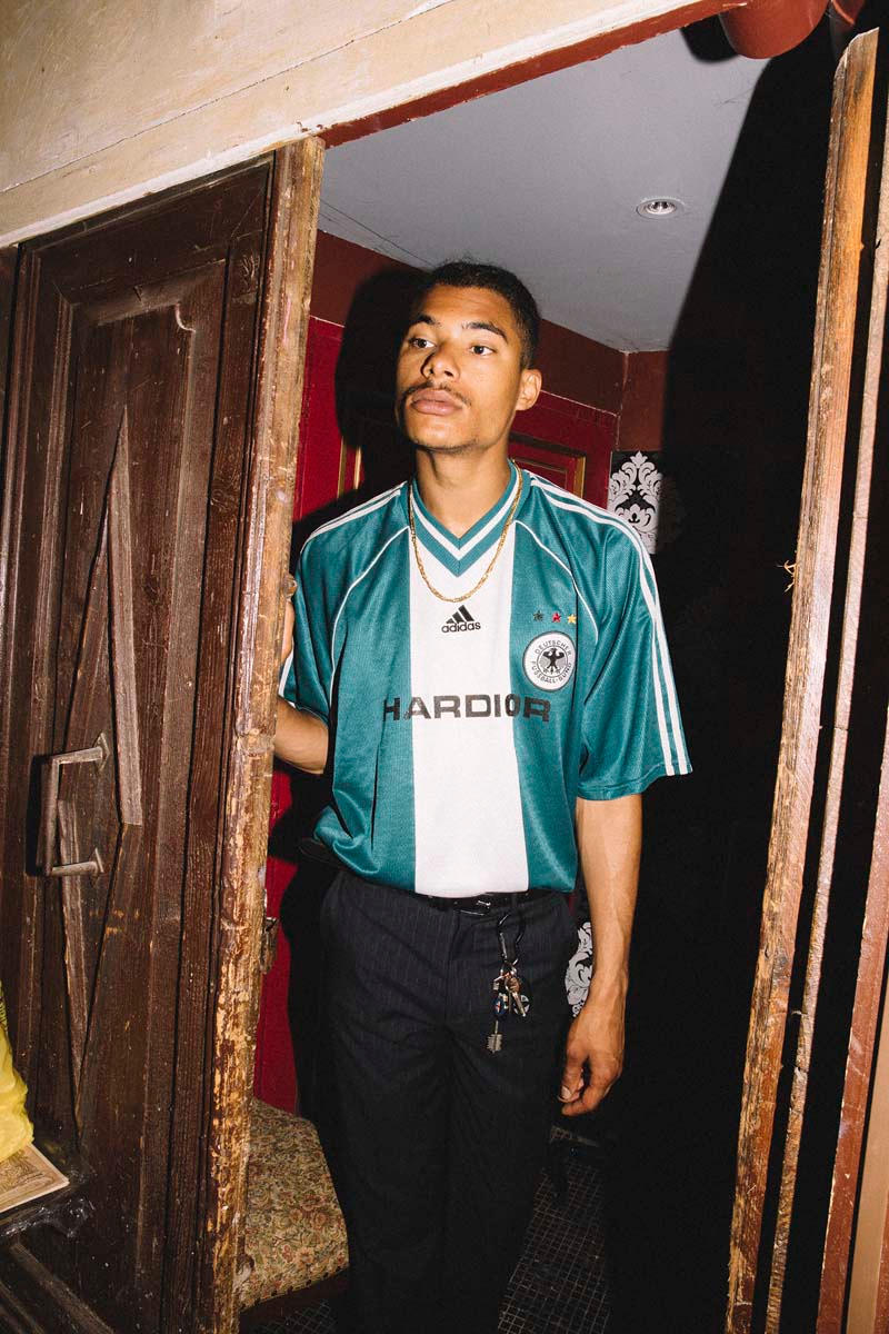 NSS Football Jerseys With Vetements, Acne, Balenciaga Branding