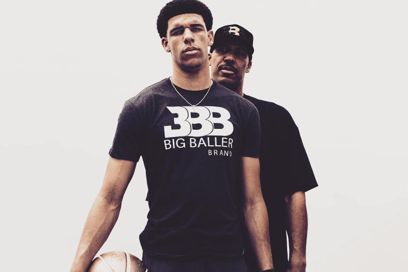 lonzo lavar lamelo liangelo ball big baller brand zo2 fathers day letter the players tribune dad pens writes tribute ucla los angeles lakers