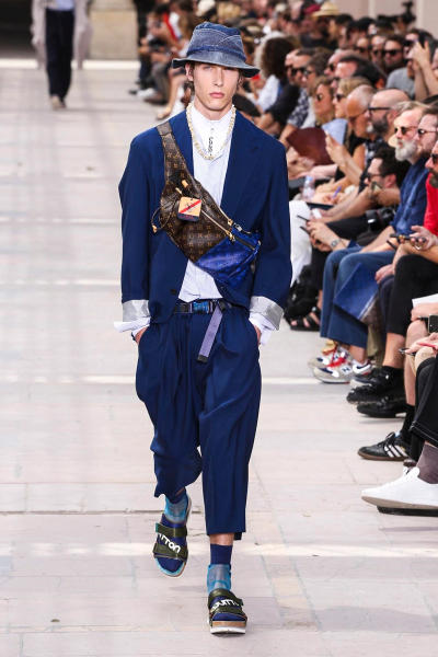 Louis Vuitton 2018 Spring/Summer Collection Paris Fashion Week Men's Kim Jones