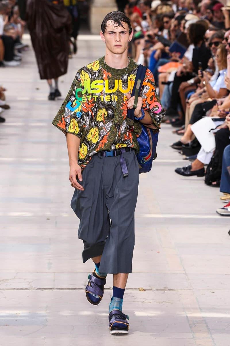 fe8b04de45c1 Louis Vuitton 2018 Spring Summer Collection Paris Fashion Week Men s Kim  Jones
