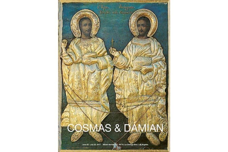 Lucien Smith 2017 Moran Bondaroff Exhibition Arts Cosmas and Damian