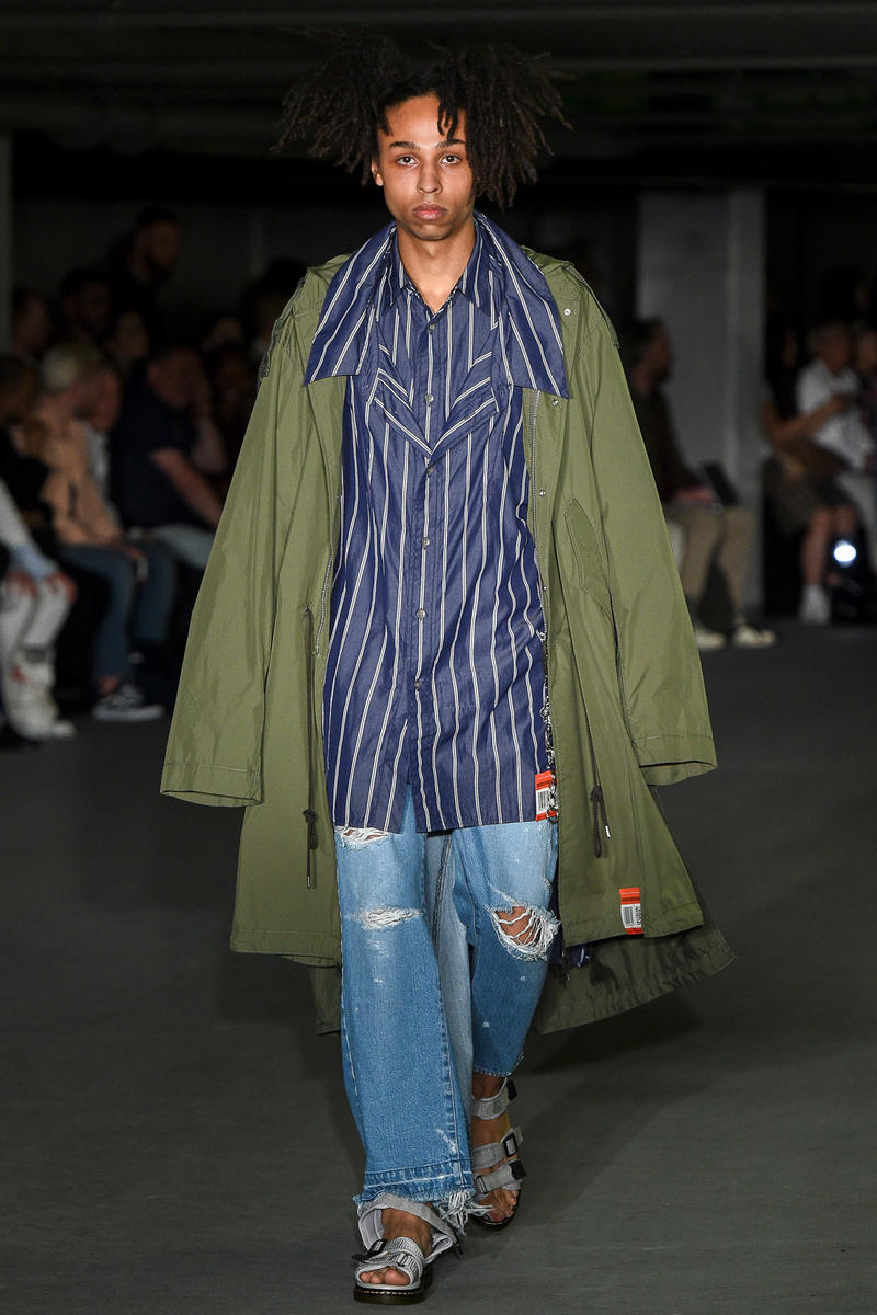 Maison Mihara Yasuhiro 2018 Spring Summer Collection London Fashion Week Men's