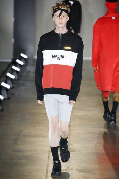 Malibu 1992 2018 Spring/Summer Collection Runway