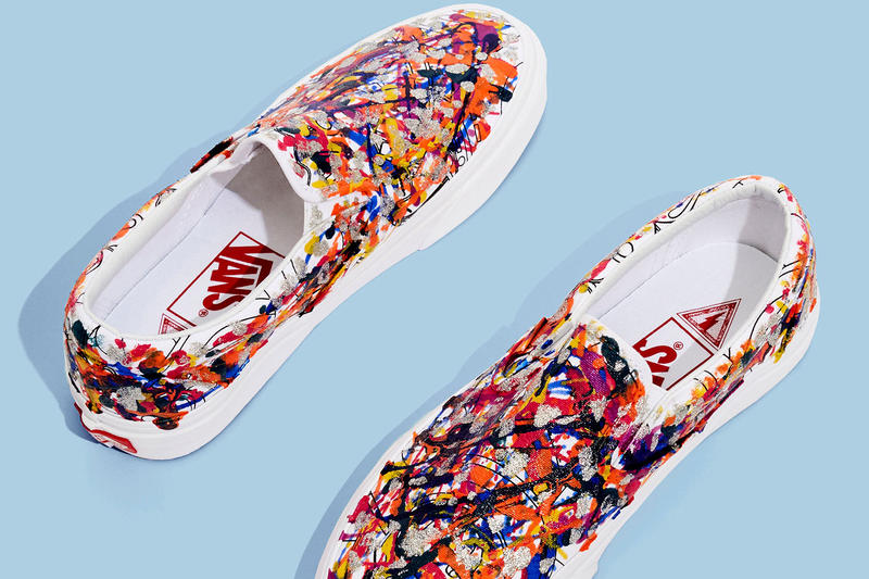 Marc Jacobs x Vans 2017 Summer Slip-On Collection