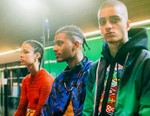 Marcelo Burlon's Models Give a Closer Look of the 2018 Spring/Summer Pieces Backstage