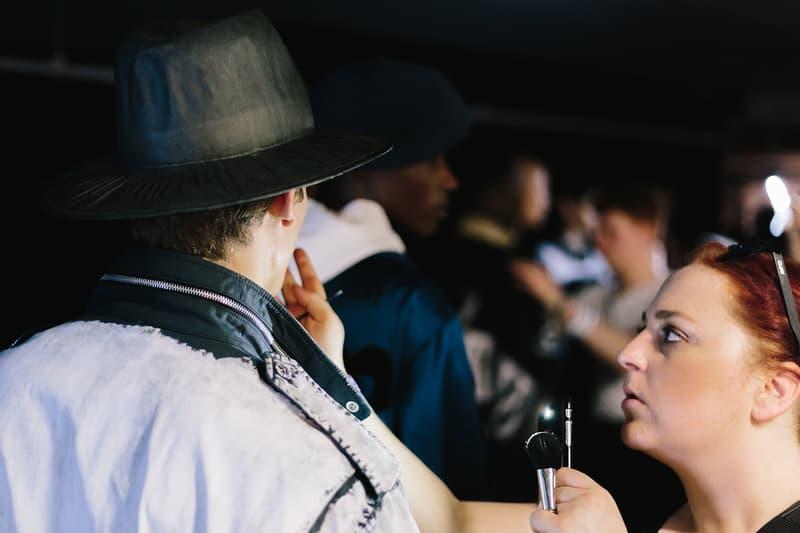 Mihara Yasuhiro Spring/Summer 2018 Backstage