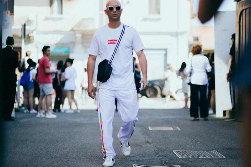 Street Style From Day 1 of Milan 2018 Spring/Summer Presentations