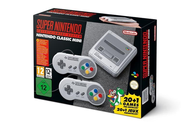 Mini SNES Super Nintendo Announced