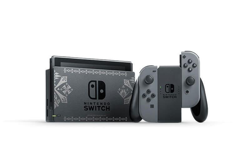Nintendo Monster Hunter XX Themed Switch Console