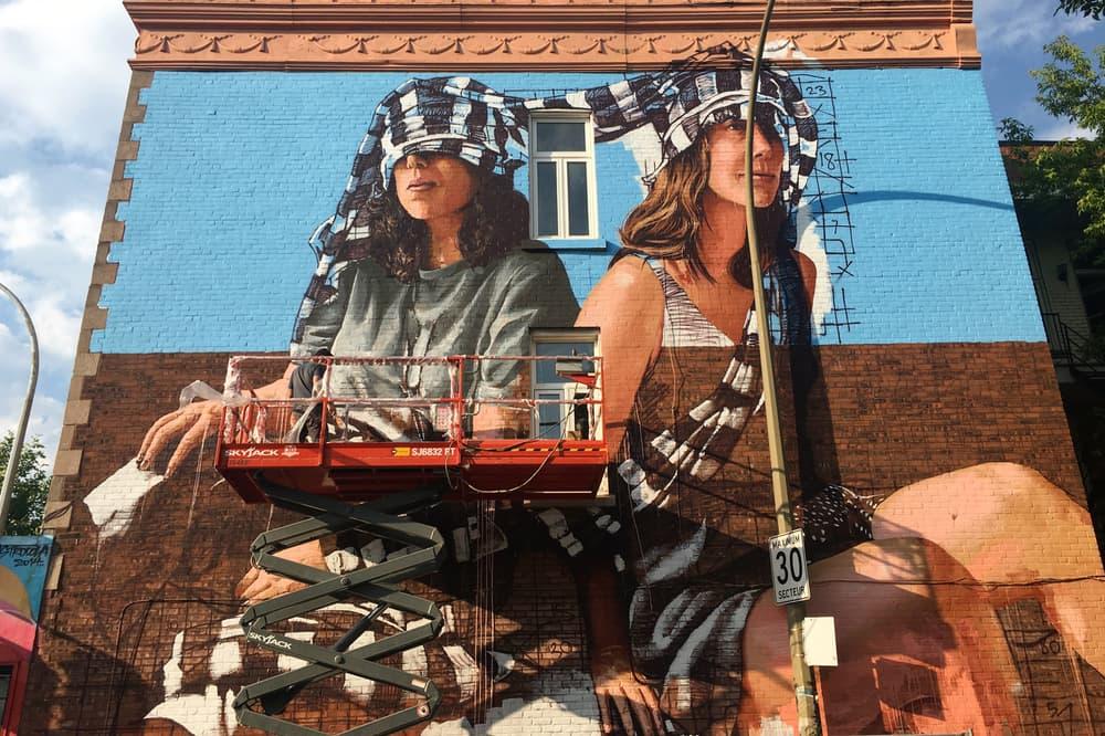 MURAL Festival 2017 Street Art Recap Artwork Felipe Pantone Ron English 1010 Mad C Fintan Magee