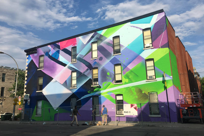 MURAL Festival 2017 Street Art Recap Artwork Felipe Pantone Ron English 1010 Mad C Fintan Magee