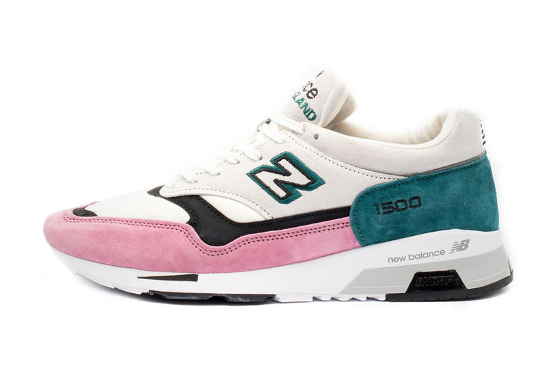 new styles 8150c 096b4 New Balance 1500 Gets Pink and Teal Makeover | HYPEBEAST