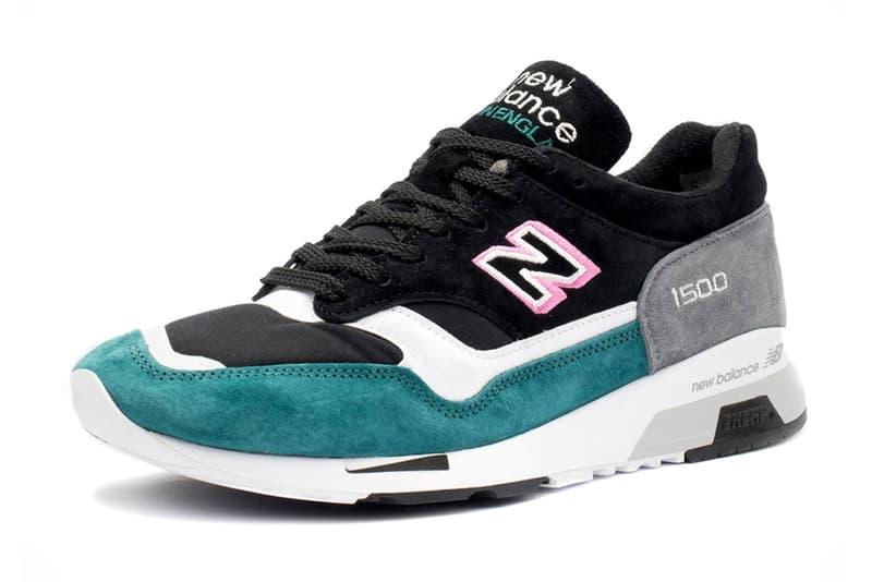 New Balance 1500 M1500 Pink Teal White Black Sneakers N Logo