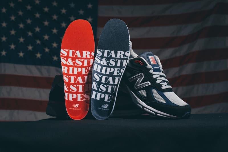 "New Balance & DTLR ""Stars & Stripes"" Capsule July 4"