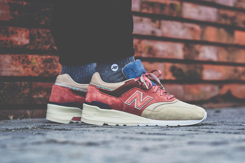 finest selection ed9b2 9ee02 A Closer Look at New Balance s Upcoming Stance Collaboration