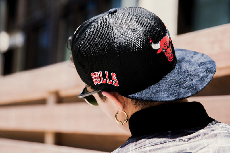 New Era x NBA Official On-Court Draft Series Collection Black Chicago Bulls Hat