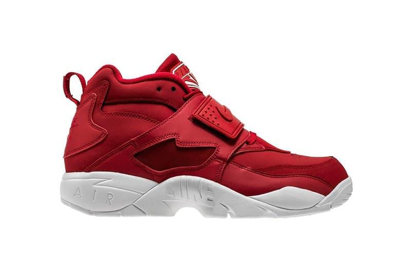 d6b35fe7ef Nike Air Diamond Turf Red/White Colorway Deion Sanders Retro