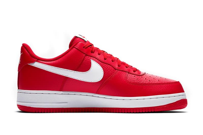 Nike Air Force 1 Low Mini Swoosh University Red Colorway Set