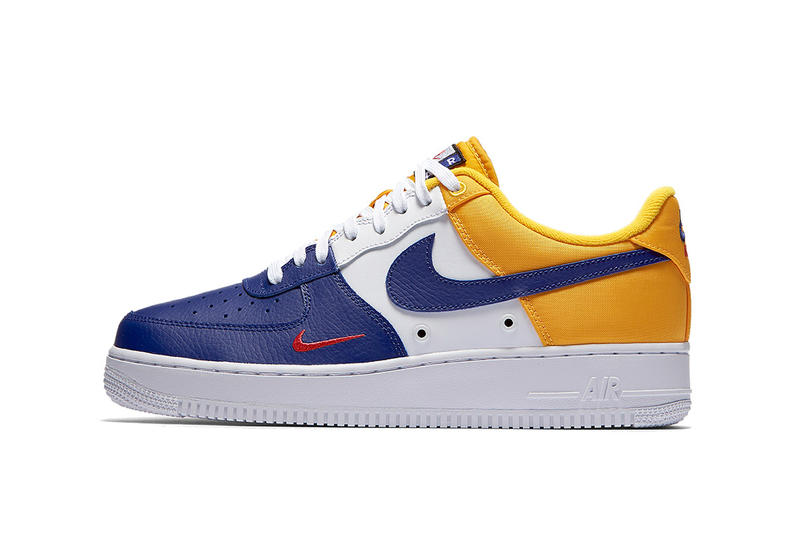 quality design 597f5 3e5a0 Nike Air Force 1 Mini Swoosh Deep Royal Blue