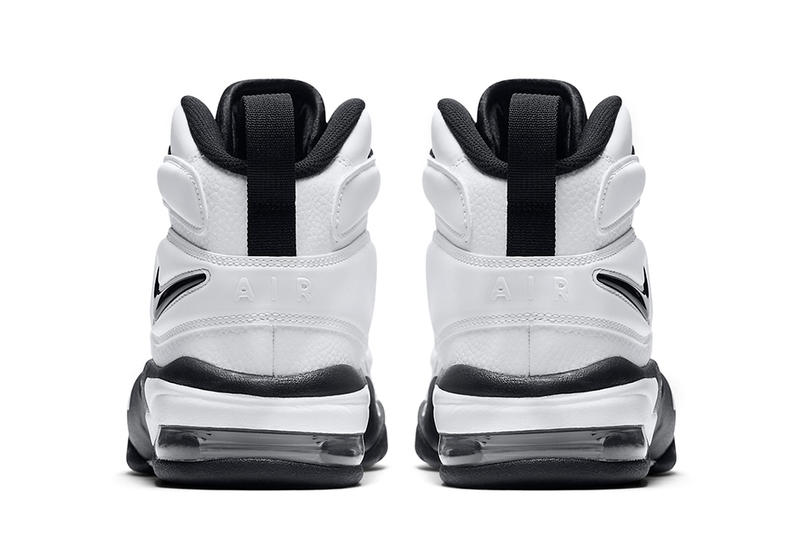 Nike Air Max 2 Uptempo Black and White