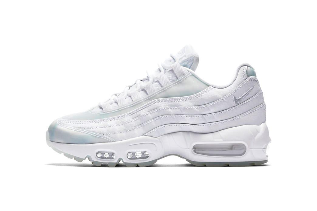 all white 95 air max