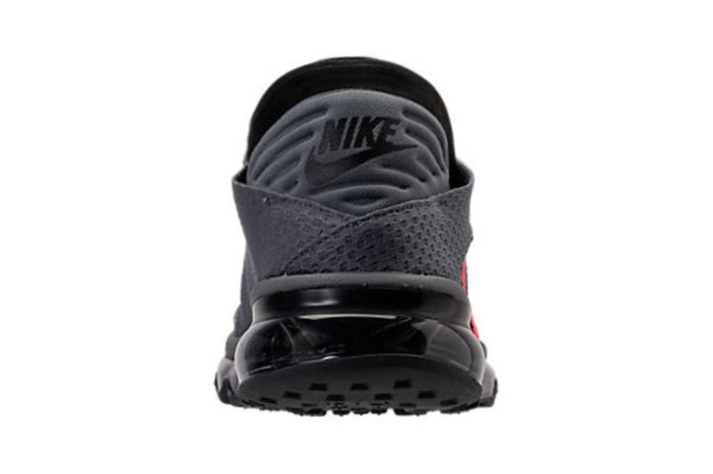 Nike Air Max Flair Cool Grey Solar Red Colorway