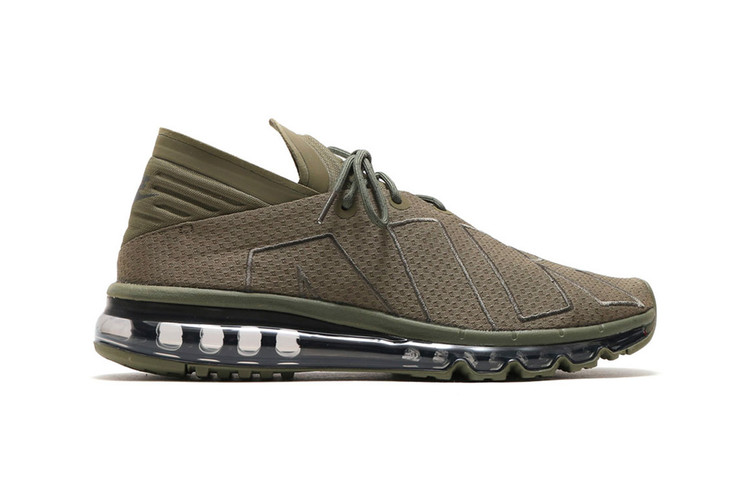 8283f558e257 The Nike Air Max Flair Goes Tonal With Its New Olive and Gold Colorways