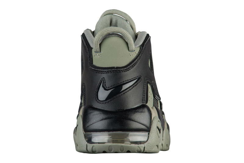 Nike Air More Uptempo Dark Stucco Olive Military Green